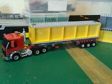 LEGO CAMION E Custom City Rimorchio Container L @ @ K