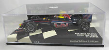 RED BULL RACING RB5 #15 Sebastian VETTEL F1 2009 showcar LE 3240 MINICHAMPS 1:43