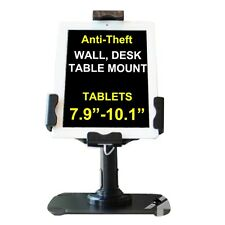 "Ipad 2 3 4 Mini Aire Anti Robo Contra Pared Kiosco Desk Mount Tablet 7.9 "" -10,1"""