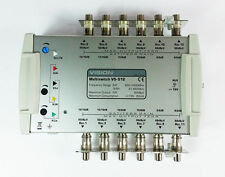 V5-512 Multiswitch TV Aerial Vision coax coaxial Satellite UK Stock