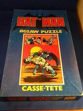 Vintage Casse-Tete Batman Jigsaw Puzzle