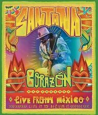 Santana: Corazon Live from Mexico Live It to Believe It DVD 2014 Disc
