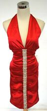 NWT WINDSOR $100 RED Juniors Prom Party Dance Dress 13