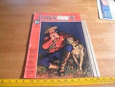 Boys Life Magazine 1938 Mickey Rooney Boys town boy scouts Baby Ruth ad