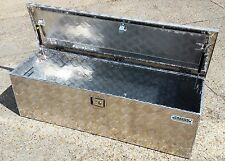 New Aluminium 4ft Long Chequer Plate toolbox Hi Lux L200 4x4 Pick up truck