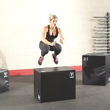 Body-Solid Three-Way SOFT PLYO BOX Gym Fitness Crossfit Exercise - BSTSPBOX