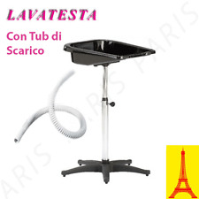 LAVATESTA PORTATILE PER PARRUCCHIERI+TUBO DI SCARICO MADE IN ITALY TOP QUALITY