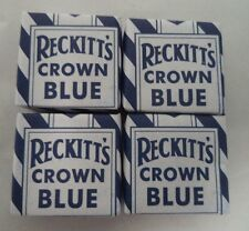 Reckitt's Crown Blue: Laundry and Religious Cleaning Squares: 4 Pack