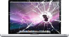 """Repair Cracked Glass SERVICE MacBook Pro A1278 A1286 A1297 13"""" 15"""" 17"""" 2008-12"""