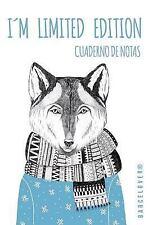 Cuaderno de Notas. Im Limited Edition. Diario, Bloc de Notas. Lobo Hipster :...