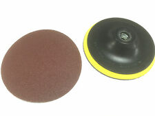 "Rubber Backing Pad for 5"" (125mm) For Angle Grinder with 5 pc Sanding Dis M14x2"