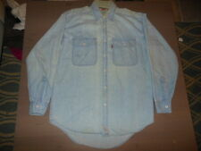 Vintage Men's Levi's Button Long Sleeve Shirt Size Small
