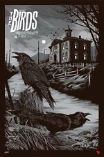 The Birds Mondo Movie Poster Print (Variant) - Ken Taylor - Hand Numbered x/175