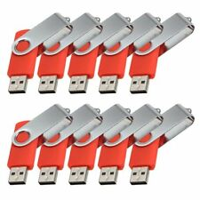 Lot 10 1G 1GB USB Flash Drive Memory Pen Key Stick Bulk Wholesale Red 03