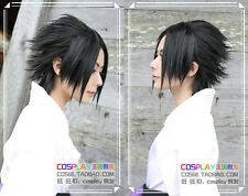 New Uchiha Sasuke Short Black Straight Cosplay Wig