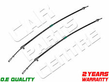 FOR CHRYSLER 300C 3.0 DT V6 2005- 2x NEW REAR LEFT RIGHT BRAKE CABLE CABLES