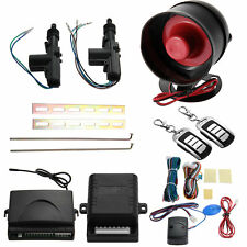 Car 2 Door Remote Control Central Entry Locking Kit Alarm Siren Security System