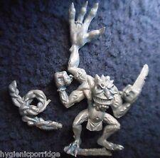 1997 Rosa caos campeón de comando de terror Citadel Warhammer Demonio de Tzeentch GW