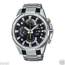 Casio Edifice EFR540D-1AV Stainless Bezel Stainless Steel Band Analog Mens Watch