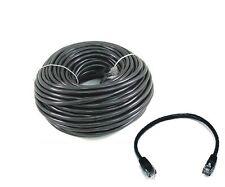 60 FT + 6 FT CAT6 23 AWG RJ45 Ethernet Network LAN Patch Cables Black UTP