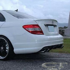 PAINTED MERCEDES BENZ 08~13 W204 C-class A Type Rear Trunk Spoiler C63 C300 C350