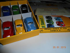 BIEN LIRE LE DESCRIPTIF LOT  DE 6  SIMCA 5  DINKY TOYS REEDITION DE CHEZ ATLAS