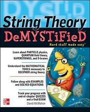 String Theory Demystified by David McMahon (2008, Paperback)