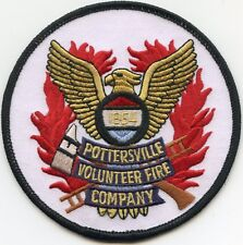 POTTERSVILLE NEW JERSEY NJ Volunteer Fire Company FIRE PATCH