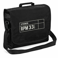 33 RPM Stereo Record Bag - Audiophile Retro Vinyl LP DJ, Christmas Gift Him Dad