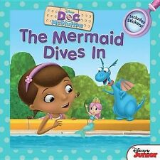 Doc McStuffins the Mermaid Dives in: Includes Stickers!,GOOD Book