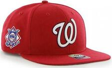 Forty Seven 47 Brand Washington Nationals Red Sure Shot Snapback Cap Limited New
