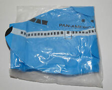 "RARE Vintage PAN AM Airlines NEW Inflatable Blue Boeing 747 Airplane 24"" Long"