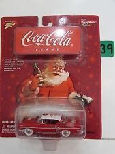 JOHNNY LIGHTNING COCA - COLA 1958 CHEVY IMPALA WHITE LIGHTNING