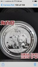 2010 china  Agricultural Bank panda silver coin