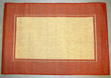 """Out Door Area Rug Sunset Boarder 39""""x 59"""" Home Decor"""