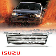 Chrome Range Rover Style Net Grill Grille DMAX Upgrade For Isuzu D-MAX 2002-2005