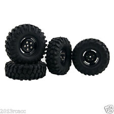RC 1:10 Jeep Wrangler SCX10 D90 HSP 51-7006 Wheel 1.9inch Rock Climbing Tires 4P