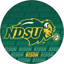 "NORTH DAKOTA STATE 4"" REPEAT DESIGN MANGET-NDSU CAR MAGNET-NEW FOR 2016!"