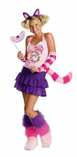 Disguise Disney Alice in Wonderland CHESHIRE CAT Adult Costume Size S 4-6 NEW