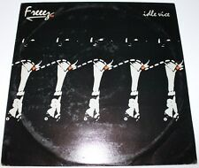 FREEZ - Idle Vice [Vinyl LP, 1985] UK BEGA 62 Electronica Synth-Pop *EXC