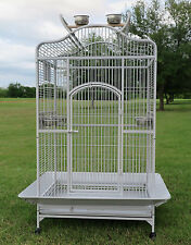 Large Bird Parrot Open PlayTop Cage Cockatiel Macaw Conure Aviary Finch Cage 333