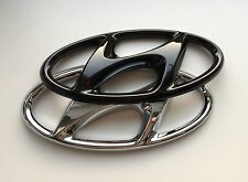 Hyundai Tucson TL TLE Badge Cover highgloss Black Emblem Cover hochglanz schwarz