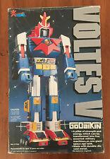 GODAIKIN Japan Made VOLTES V DX Vintage Robot Die-cast metal 1982 Bandai America