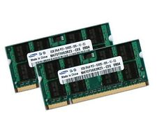 2x 2GB 4GB DDR2 667 Mhz ASUS ASmobile F9 Notebook F9E RAM SO-DIMM