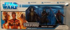 Star Wars Legacy Collection Evolutions Sith Legacy Darth Maul Nihilus Bane MISB