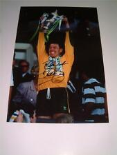 Celtic FC 1989 Scottish Cup Final Pat 'Packie' Bonner hand signed photo