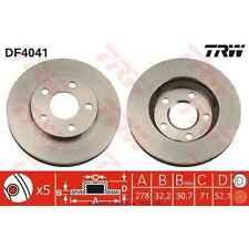Disque de frein, 1 unités trw df4041