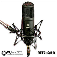 Oktava MK-220 - Multi Pattern Recording Mic + Shock Mount - New - Make Offer Win