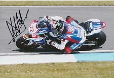 Alex Lowes Hand Signed 12x8 Photo Suzuki MOTOGP, BSB 5.