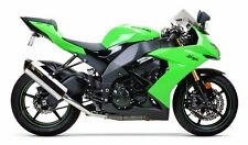 08-10 ZX10R Two Brothers Aluminum Slip On Exhaust ZX10 2008 2009 2010 Polished
